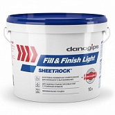Шпатлевка Sheetrock Fill&Finish Light 10 л